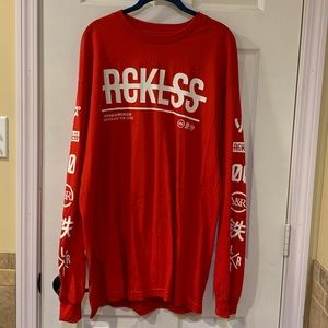 NWT RARE FIND Young & Reckless Long Sleeve Tee XL